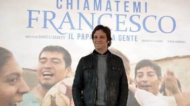 L'acteur argentin Rodrigo de la Serna, qui incarne le pape François, dans ses années en Argentine, alors qu'il n'était encore que Jorge Bergoglio.