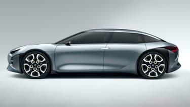 Le CXperience, concept dévoilé en 2016 au Mondial de l'Automobile de Paris, sera l'une des principales sources d'inspiration de Citroën  pour sa future grande berline.