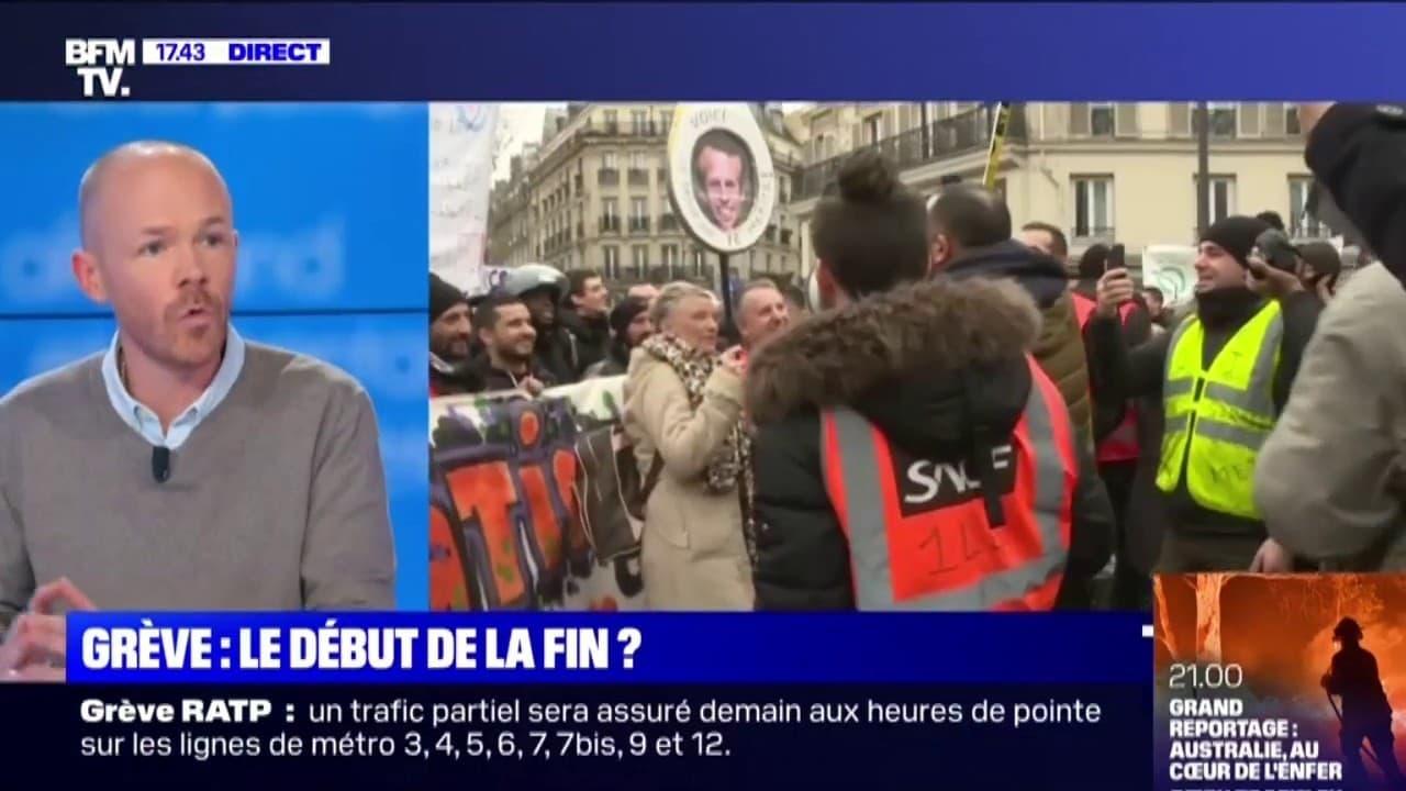 """Vincent Gautheron (CGT): """"Ce n'est pas parce qu'il y aurait une reprise du trafic ou de l'activité que le mouvement syndical a décidé d'arrêter"""""""