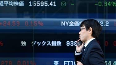 L'économie japonaise a progressé trop faiblement au quatrième trimestre 2013.