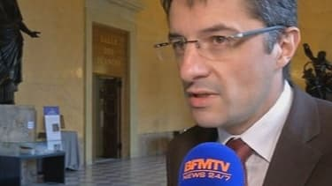 Erwann Binet, le rapporteur du projet de loi sur le mariage homosexuel.