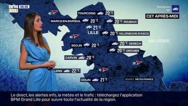 Météo: une météo maussade ce jeudi dans la région lilloise avec quelques précipitations, des nuages et du vent au programme, seulement 21°C à Lille