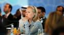 La secrétaire d'Etat américaine, Hillary Clinton, à Istanbul. Les pays de l'Otan et les puissances arabes sont réunis vendredi en Turquie pour une nouvelle réunion du groupe de contact sur la Libye qui intervient à un moment charnière entre absence de pro