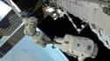 Deux astronautes de la Station spatiale internationale (ISS) Doug Wheelock (photo) et Tracy Caldwell Dyson ont effectué mercredi une deuxième sortie dans l'espace pour retirer un module défectueux du système de climatisation. Photo prise le 11 août 2010/R