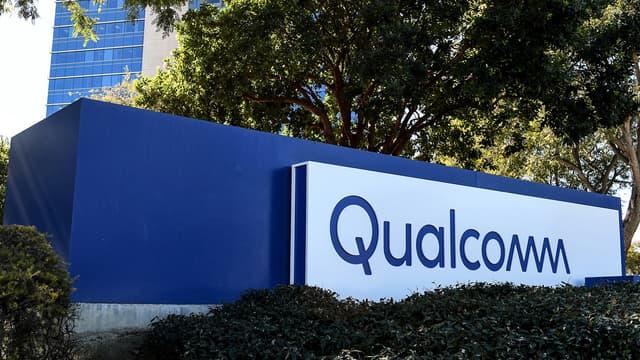 Le logo Qualcomm.