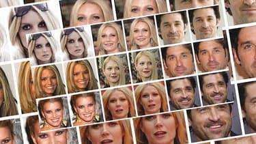 Des visages transformés par l'application Fawkes