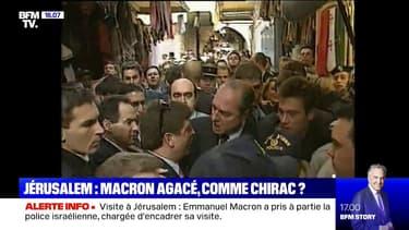 En 1996, Jacques Chirac s'était emporté à Jérusalem-Est
