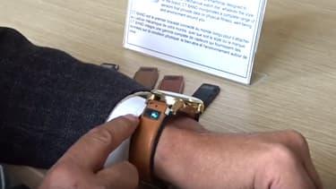 Malgré une démonstration sur YouTube, ce bracelet connecté présenté sur le CES de Las Vegas par une start-up française était une arnaque.