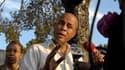 Le président haïtien Michel Martelly s'adresse à la presse à l'issue d'une conférence à Port-au-Prince. Haïti commémore ce jeudi le deuxième anniversaire du séisme dévastateur de janvier 2010 qui a ravagé le pays, toujours confronté aux défis de la recons
