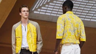 Le défilé Hermès printemps-été 2022 Homme