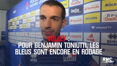 Volley : Benjamin Toniutti et les Bleus sont toujours en rodage