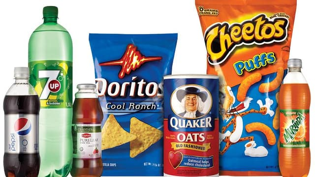 Les différentes marques appartenant à PepsiCo.