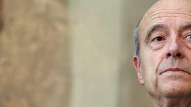 Alain Juppé à la mairie de Bordeaux. Le maire de la ville fait la course en tête dans les sondages sur la primaire des Républicains.