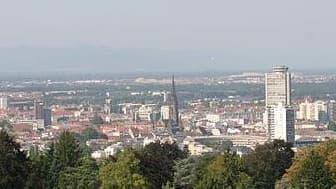 Vue de Mulhouse