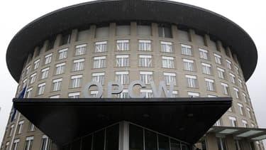 Le siège de l'OIAC (OPCW en anglais), à La Haye, aux Pays-Bas