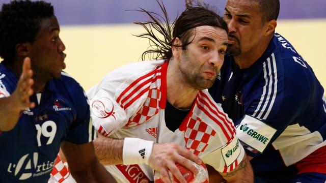 Luc Abalo et Didier Dinart