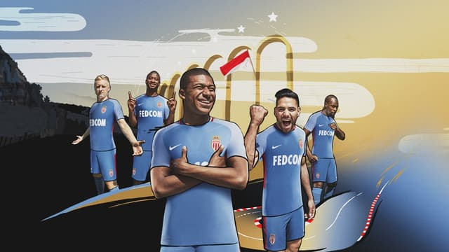 "Les maillots ""Away"" de Monaco 2017-2018"