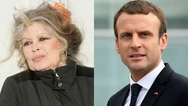 Brigitte Bardot / Emmanuel Macron