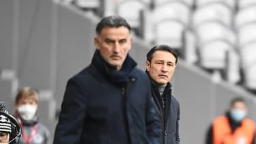 Christophe Galtier et Niko Kovac