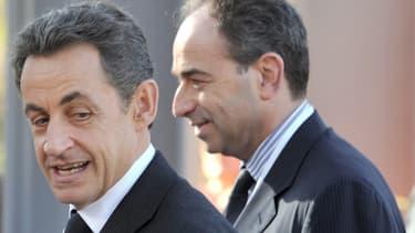 Nicolas Sarkozy et Jean-François Copé, le 8 décembre 2011.