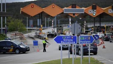 La frontière entre la France et l'Espagne (Photo d'illustration)