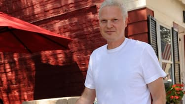 Le producteur Steve Bing à Rhinebeck, New York, en juillet 2010