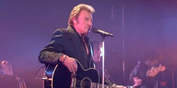 Johnny Hallyday a donné un concert privé au Théâtre de Paris le 15 juin