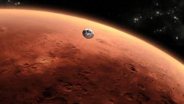 La planète Mars (Photo d'illustration)