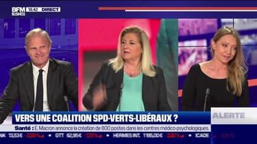Vers une coalition SPD-Verts-Libéraux en Allemagne ? - 28/09