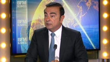 Carlos Ghosn était l'invité de Good Morning Business ce 30 septembre.