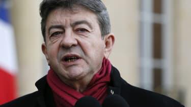 Jean-Luc Mélenchon, le 9 janvier 2015.