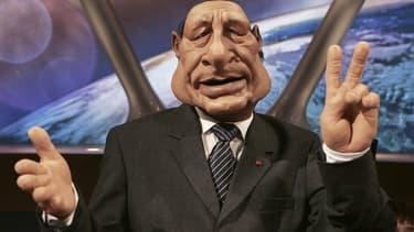 La marionnette de Jacques Chirac aux Guignols de l'info.