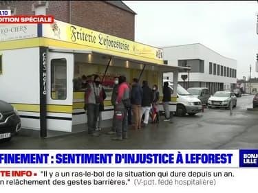 Confinement: un sentiment d'injustice dans la commune de Leforest, limitrophe du département du Nord