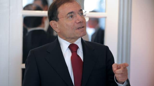 Jean-Charles Naouri, le PDG et propriétaire de Casino