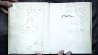 """En mai, une aquarelle originale destinée à illustrer le manuscrit du """"Petit Prince"""" avait trouvé preneur pour 133.200 euros."""