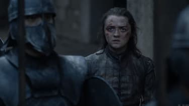 Maisie Williams dans Game of Thrones