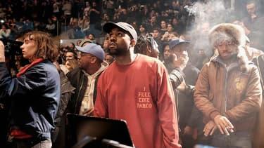 Le 11 février, Kanye West organisait la première écoute de son album au Madison Square Garden de New York.