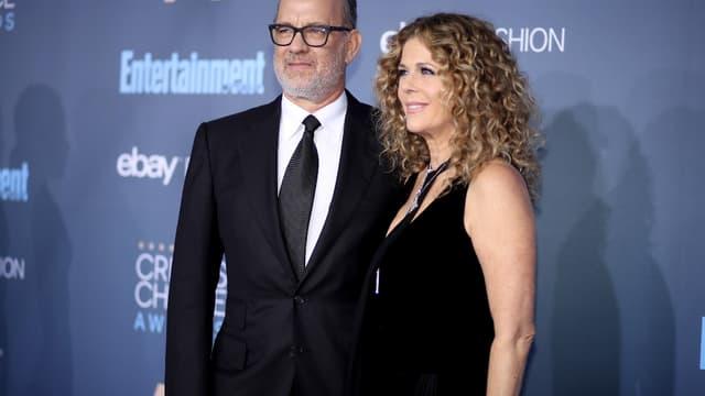 Tom Hanks et sa femme Rita Wilson.