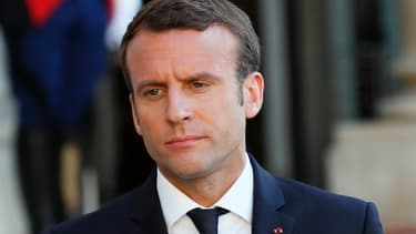 Emmanuel Macron, le 21 mai 2017.