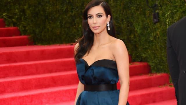 Kim Kardashian en mai 2014 à New York