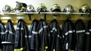 Caserne de pompiers à Lyon (illustration)