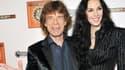 Mick Jagger et L'Wren Scott,