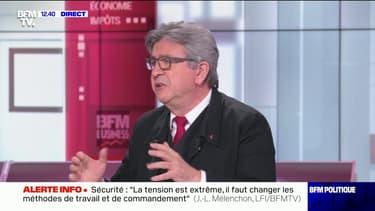 """Gestion de l'eau: Jean-Luc Mélenchon propose une réorganisation des régions françaises """"pour les faire correspondre aux bassins versants"""""""