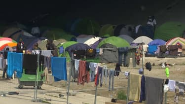 L'évacuation du campement du Millénaire a débuté ce mercredi à Paris.