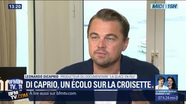 DiCaprio, un écolo sur la Croisette