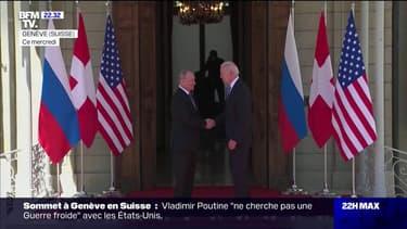Joe Biden et Vladimir Poutine se sont rencontrés en Suisse pendant 3h30