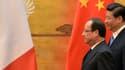 François Hollande et Xi Jinping au Palais du peuple à Pékin jeudi 25 avril.