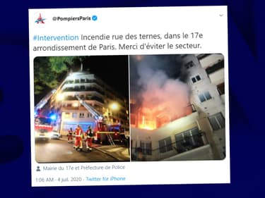 Un incendie dans un immeuble du centre de Paris a fait un mort, une femme âgée, deux blessés graves et dix plus légèrement touchés, dans la nuit de vendredi à samedi.