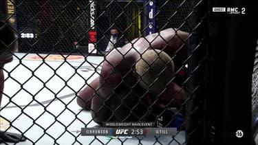 UFC : Brunson fait craquer Till d'une énorme soumission