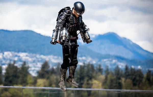 Comme on s'en doute en voyant cette image, le héros préféré de Richard Browning est Iron Man